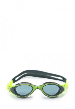 Очки для плавания MadWave. Цвет: зеленый