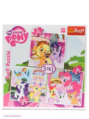 Набор 3в1 Моя маленькая Пони Trefl. Цвет: розовый