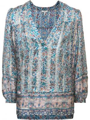 Блузка с цветочным принтом Joie. Цвет: многоцветный
