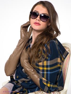 Перчатки Eleganse. Цвет: светло-коричневый