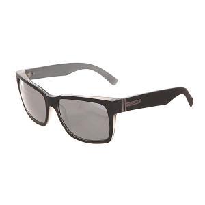 Очки  Elmore Black Satin/Grey Chrome Von Zipper. Цвет: черный,серый