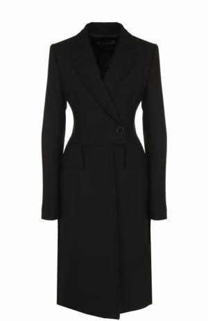 Приталенное кашемировое пальто Tom Ford. Цвет: черный