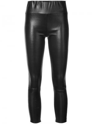 Cropped slim fit trousers Sprwmn. Цвет: чёрный