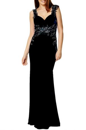 Платье Dynasty. Цвет: black