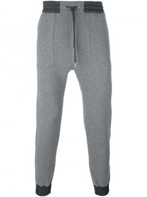 Спортивные брюки Helmut Lang. Цвет: серый