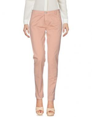 Повседневные брюки DIXIE. Цвет: телесный