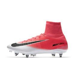Футбольные бутсы для игры на мягком грунте  Mercurial Superfly V Dynamic Fit SG-PRO Nike. Цвет: розовый