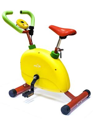 Тренажер детский STAR FIT KT-102 Велотренажер starfit. Цвет: зеленый, красный, желтый