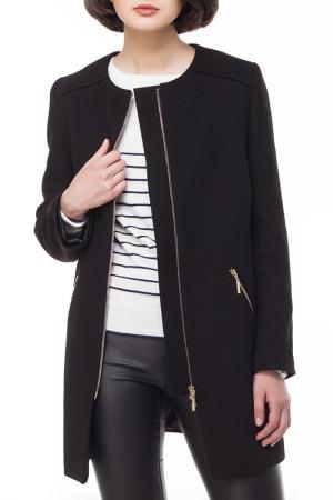 Пальто VILATTE. Цвет: черный
