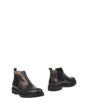 Полусапоги и высокие ботинки MIKAELA. Цвет: свинцово-серый