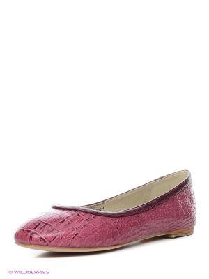 Балетки STESSO. Цвет: розовый