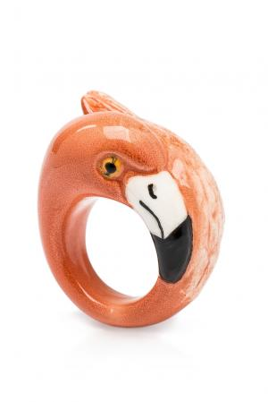 Кольцо 184776 Nach Jewellery. Цвет: оранжевый