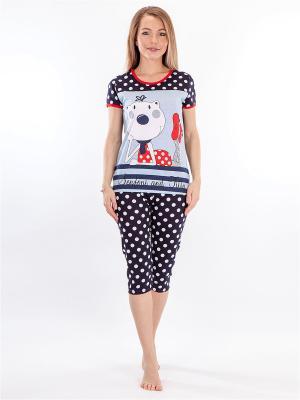 Пижама HELLO MODA!. Цвет: серый