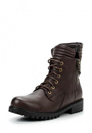 Ботинки Spot On. Цвет: коричневый