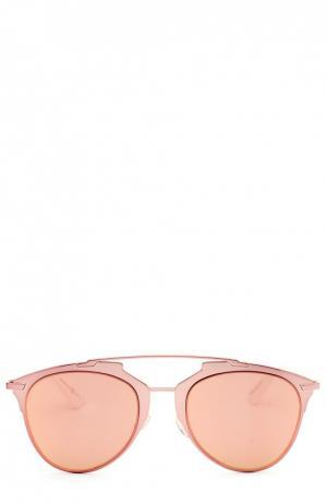 Солнцезащитные очки Dior. Цвет: розовый