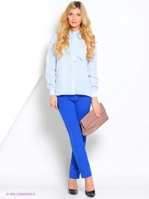 Блузка Кэнди CLABIN. Цвет: голубой