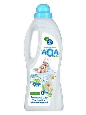 Бальзам Aqa Baby Для Стирки Детских Изделий Из Шерсти И Деликатных Тканей 1000 Мл. Цвет: синий