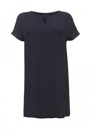 Платье Silver String. Цвет: синий