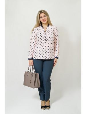 Блуза BALSAKO. Цвет: бледно-розовый
