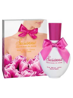 Туалетная вода  Susanna Princess in pink (Сусанна принцесса в розовом (etd)) жен. 55ml APPLE PARFUMS. Цвет: прозрачный