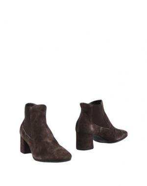 Полусапоги и высокие ботинки HÉCOS. Цвет: темно-коричневый