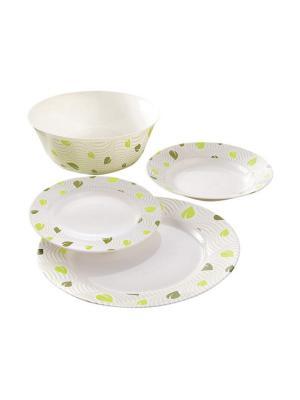 Набор столовой посуды Luminarc Amely, 19 предметов. Цвет: прозрачный