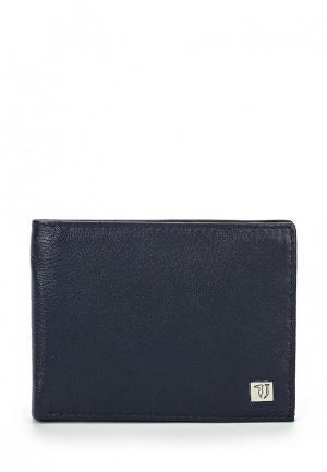 Портмоне Trussardi Jeans. Цвет: синий