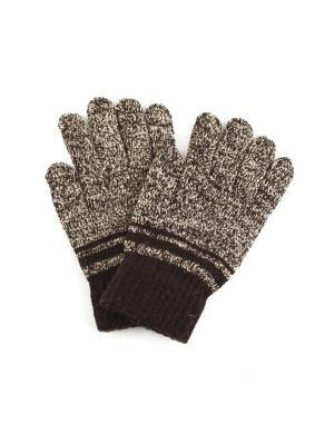 Перчатки 1Azaliya. Цвет: коричневый