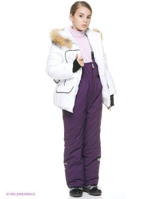 Куртка BOOM. Цвет: белый