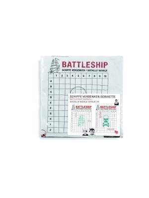 Салфетки Battleships Donkey. Цвет: черный, красный, белый