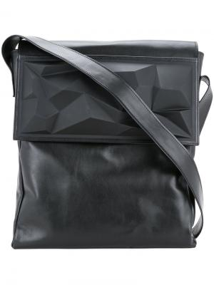 Foldover top shoulder bag Lamat. Цвет: чёрный