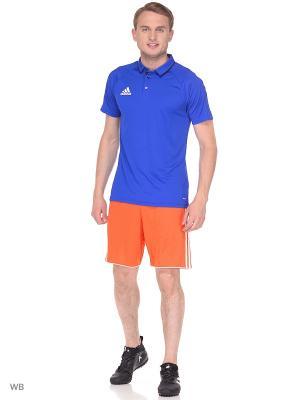 Спортивные шорты Adidas. Цвет: оранжевый