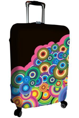 Чехол на чемодан SOVA COVER. Цвет: черный