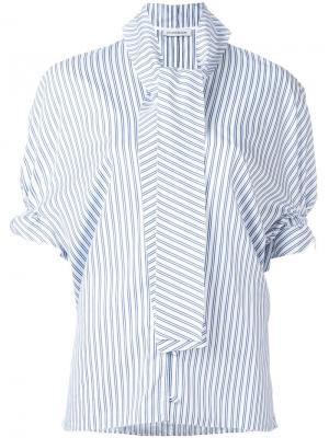 Блузка в полоску J.W.Anderson. Цвет: белый