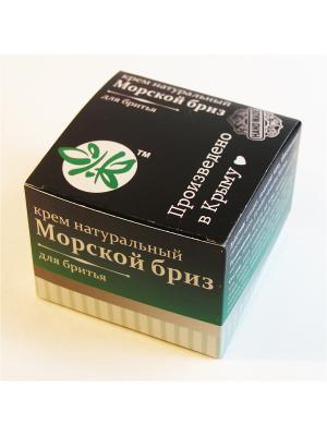 Натур.крем для бритья Морской бриз Крымская Натуральная Коллекция. Цвет: белый