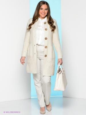 Жакет Milana Style. Цвет: бежевый