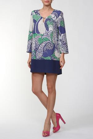 Платье Marly's. Цвет: зеленый
