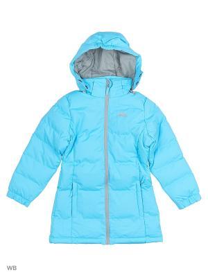 Куртка Trespass. Цвет: бирюзовый