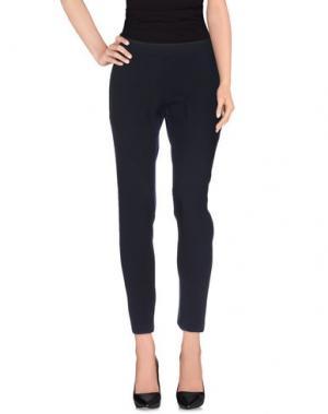 Повседневные брюки LUXURY FASHION. Цвет: темно-синий