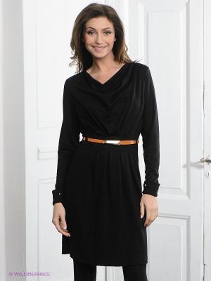 Платье Pura. Цвет: черный