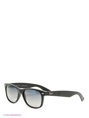 Очки солнцезащитные NEW WAYFARER Ray Ban. Цвет: черный, синий