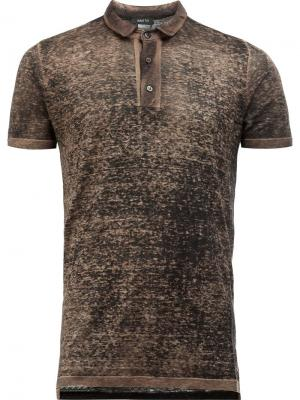 Трикотажная футболка-поло Avant Toi. Цвет: зелёный