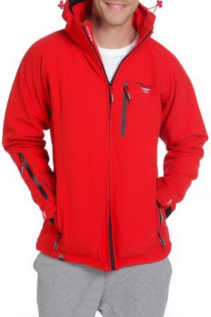 Куртка Geographical norway. Цвет: красный
