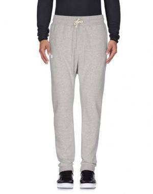 Повседневные брюки SHOESHINE. Цвет: серый