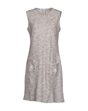 Короткое платье DOLORES PROMESAS HELL. Цвет: серый