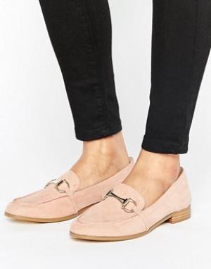 Faith Розоватые туфли на плоской подошве Agnes. Цвет: розовый