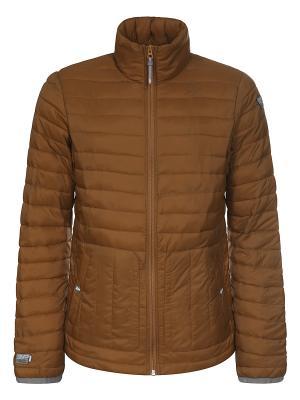 Куртка Icepeak. Цвет: коричневый