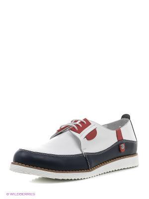 Ботинки Roccol. Цвет: белый, черный