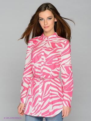 Блузка CONVER. Цвет: розовый