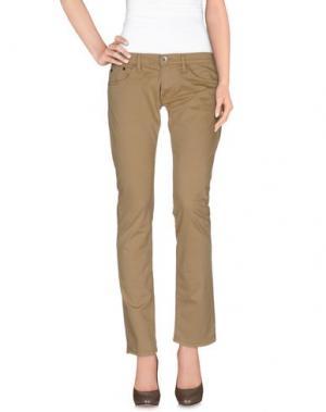 Повседневные брюки NOLITA DE NIMES. Цвет: песочный